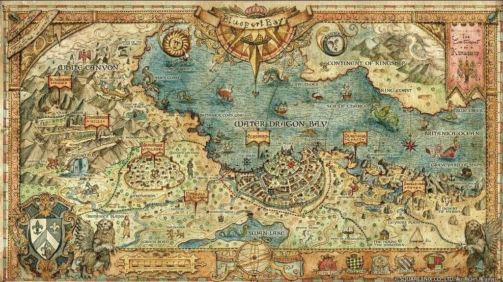 Octopath Traveler World Map Octopath Traveler Amino
