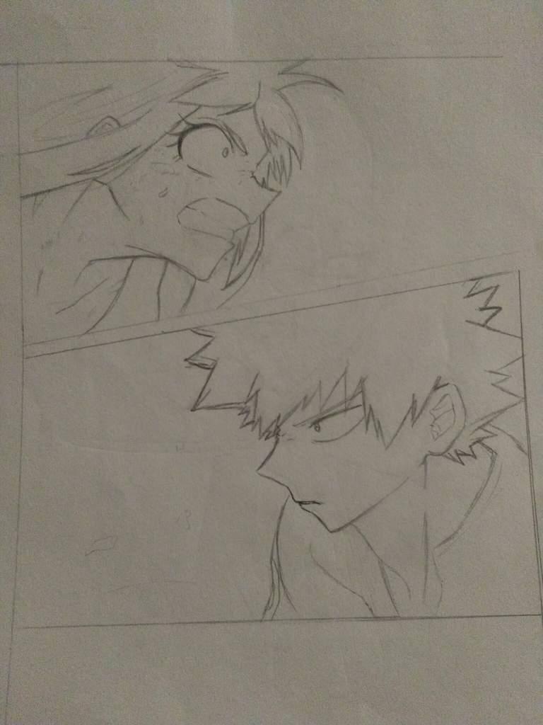 Bakugou Katsuki And Ochako Uraraka Fanart Anime Art Amino