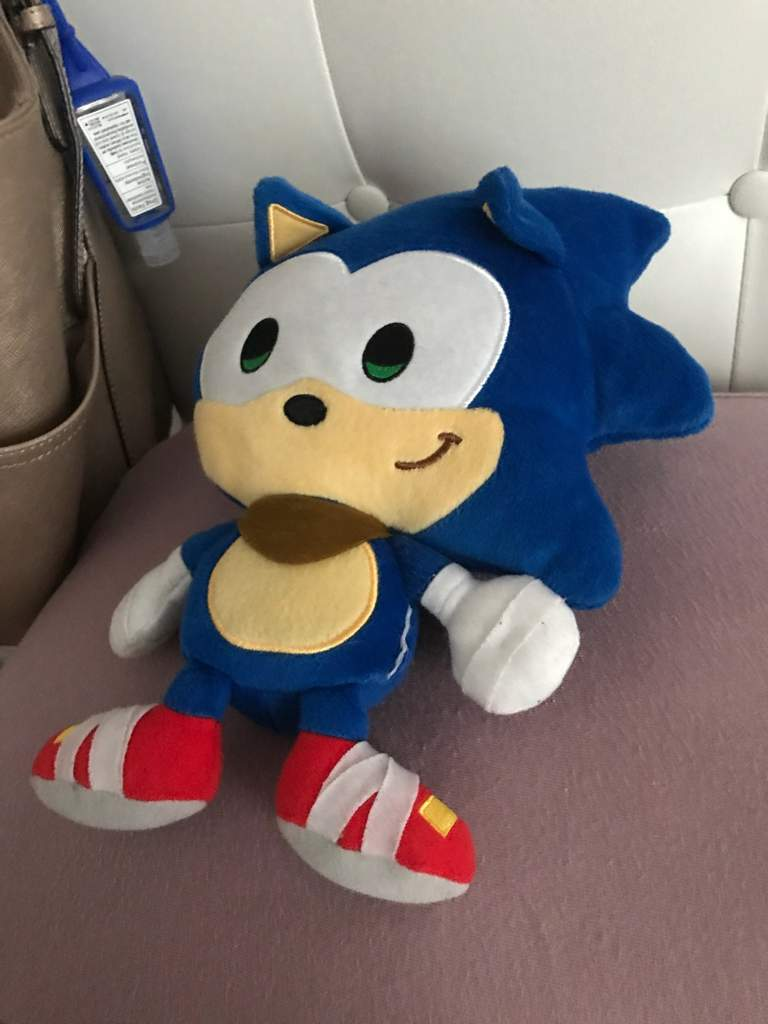 Infinite Vs Sonic Plush Part 1 Sonic The Hedgehog Amino