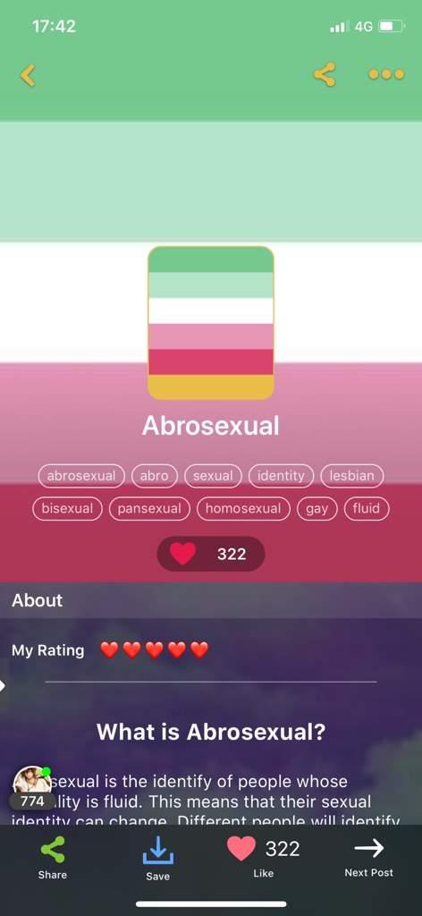 Fluid sexuality flag