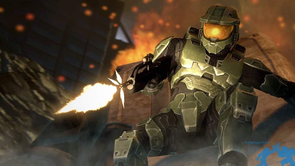 Halo 2 Wallpaper Remake In Sfm Halo Amino