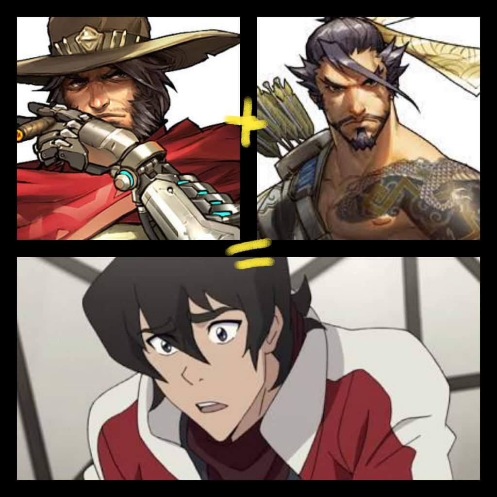 Keith is actually a Love Child of Hanzo and Mccree   Overwatch Amino