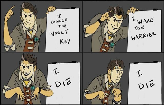 Best Meme Ever Am I Right 3 Daddy Handsome Jack Amino