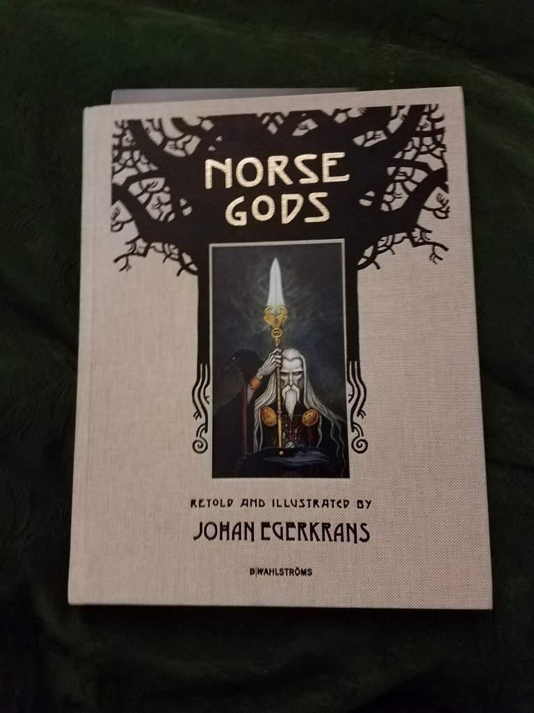 Book Review: Norse Gods by Johan Egerkrans | Pagans