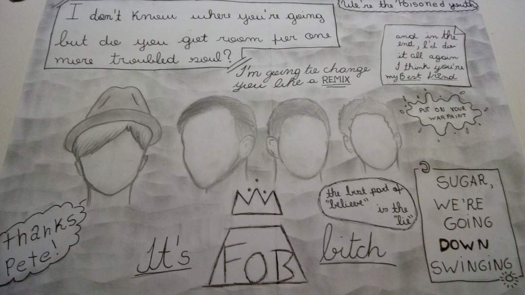 Fall Out Boy Draw Youngblood Fall Out Boy Amino