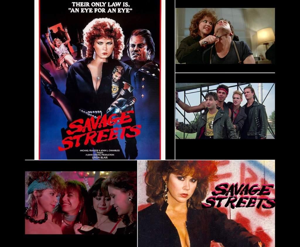 savage streets full movie