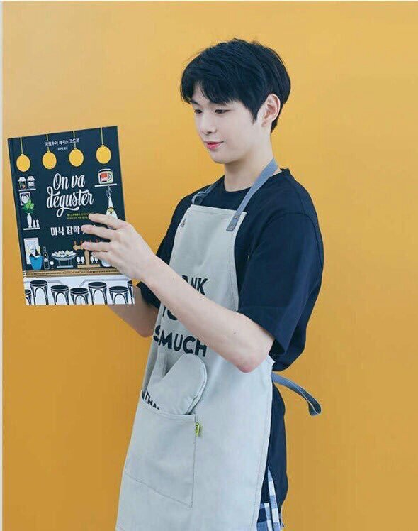 Daniel wearing apron looks so husband material ㅠㅠㅠ | Kang Daniel