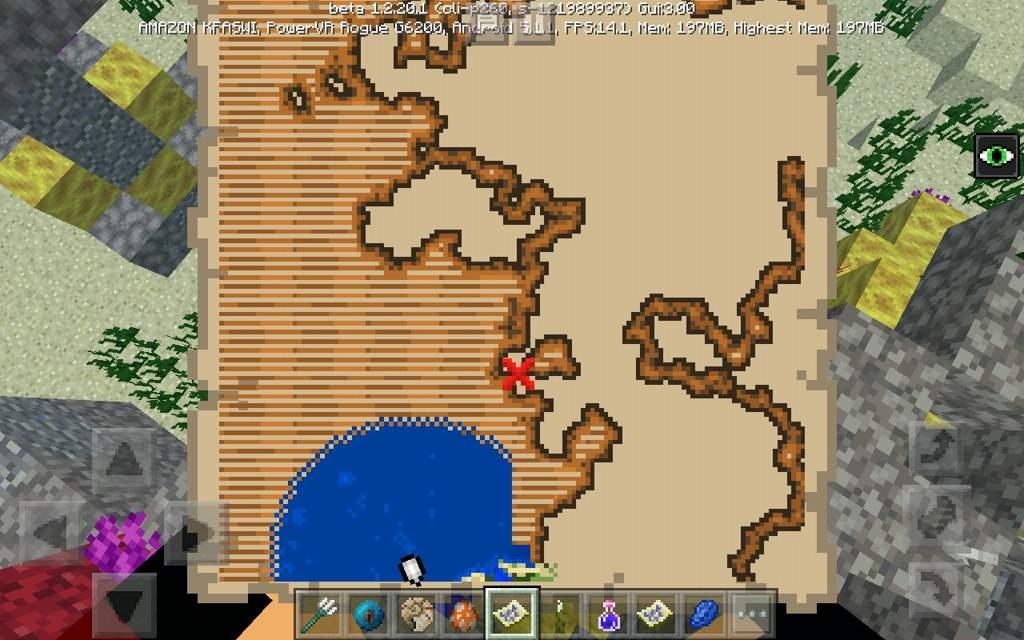 Mapa Del Tesoro Minecraft.Mi Busqueda Del Tesoro Minecraft Amino Crafters Amino
