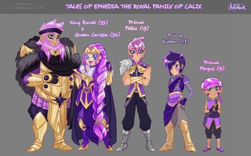 Tales of Ephedia Auriana 39 s Family