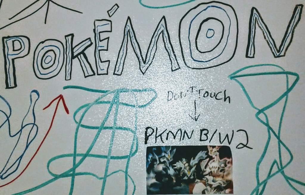 My Pkmn Word Art Drawing My White Board Wall