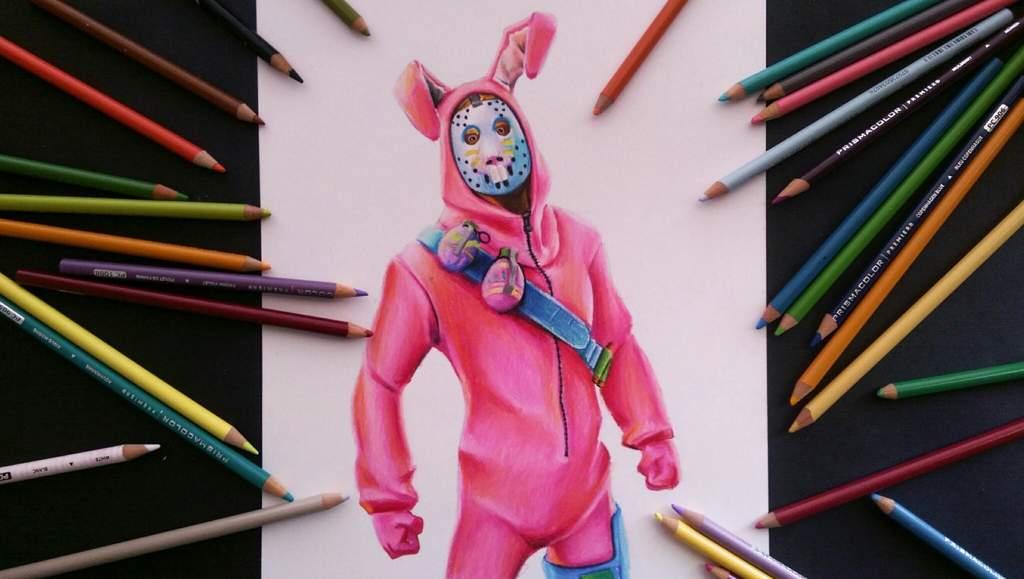 Skin De Fortnite Conejo De Pascua Dibujarte Amino