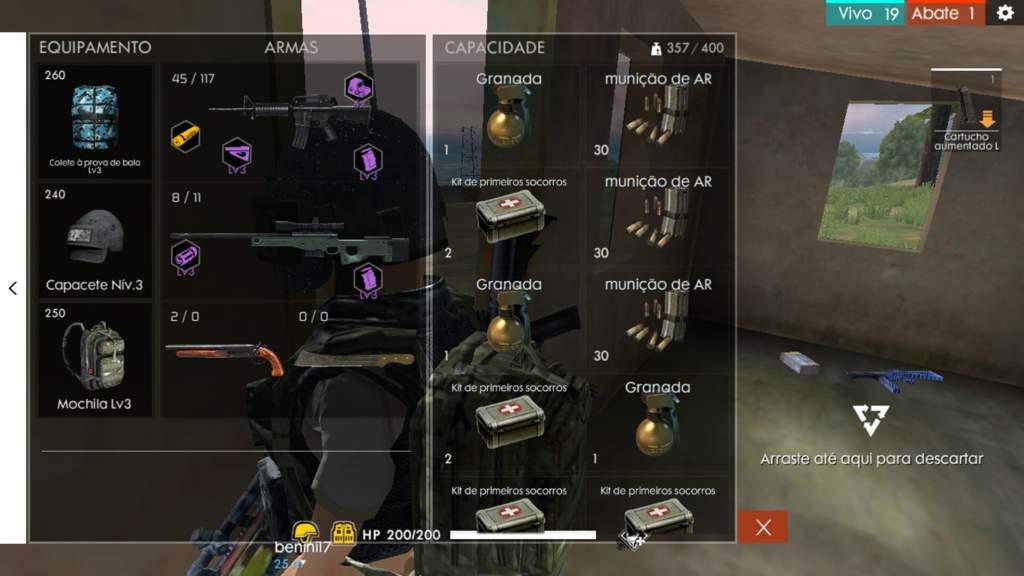 Melhor kit possível!   Free Fire   Elite One [BR] Amino