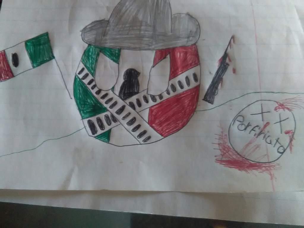 Dibujo Revolucion Mexicana