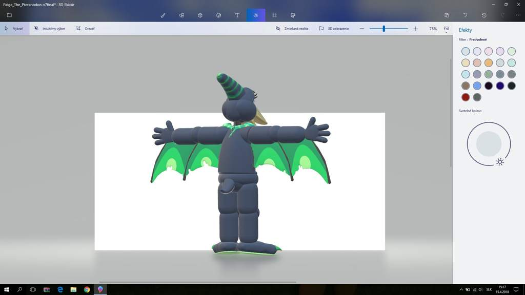 Paint 3D Paige the Pteranodon model | Five Nights At Freddy's Amino