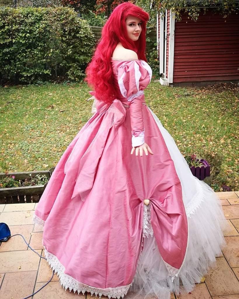 Ariel's Pink Dress