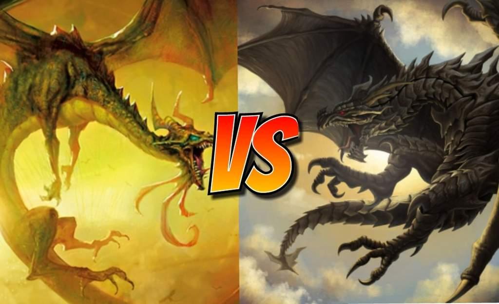 Versus Series: Nicol Bolas VS Alduin (Lvl 15 Special) | MTG