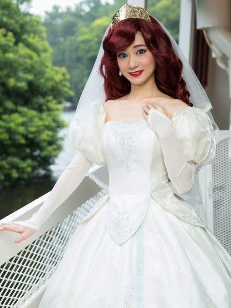 Ariel Wedding Cosplay | Disney Amino