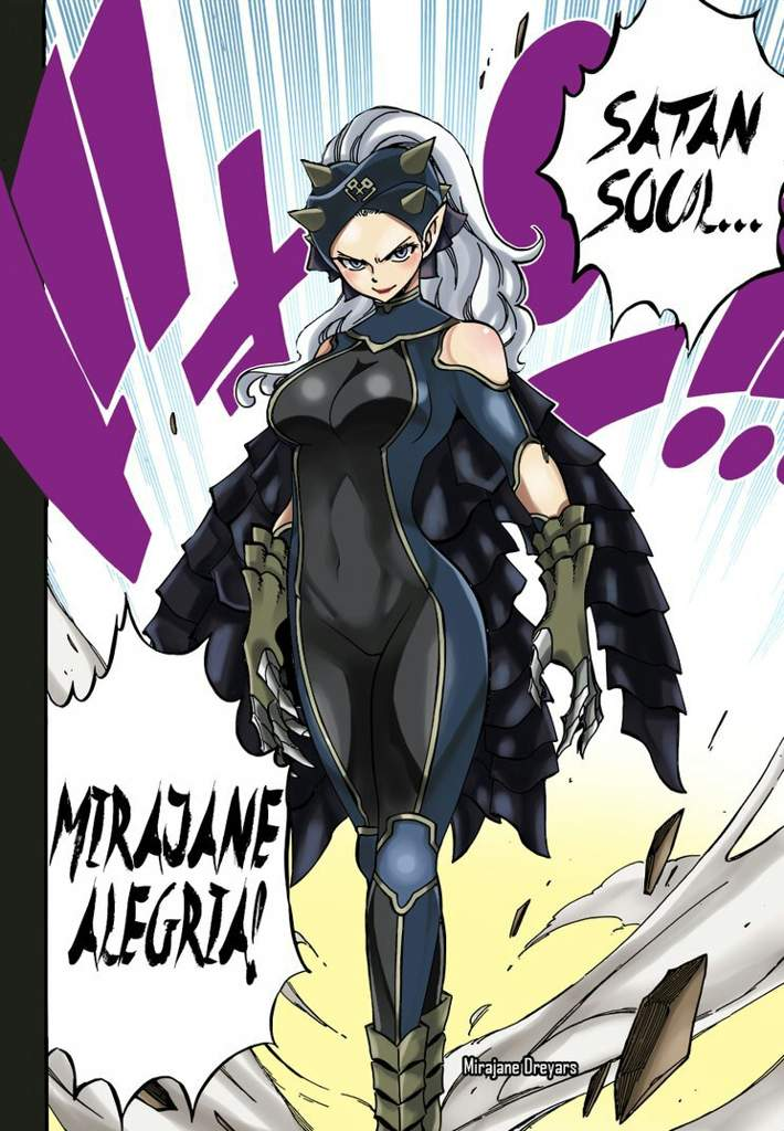 Fairy Tail Which One Of Mirajane S Demon Form Was The Best Anime Amino Satan soul is a caster magic and a form of take over. fairy tail which one of mirajane s