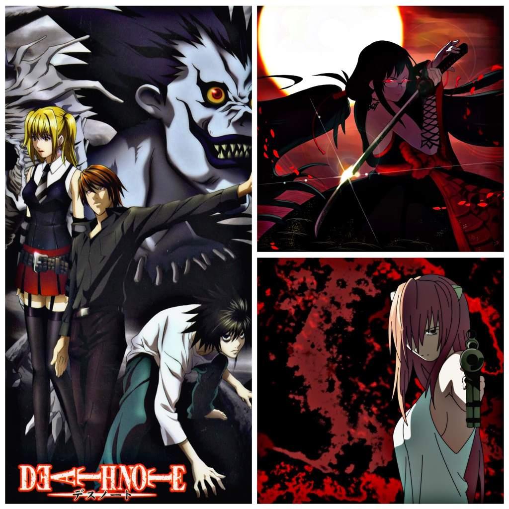Triple Anime Review: Death Note, Blood C, Elfen Lied