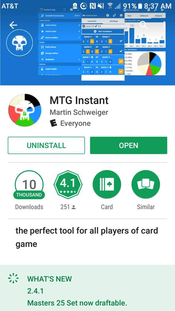 Review of the MTG Instant app  | MTG Amino