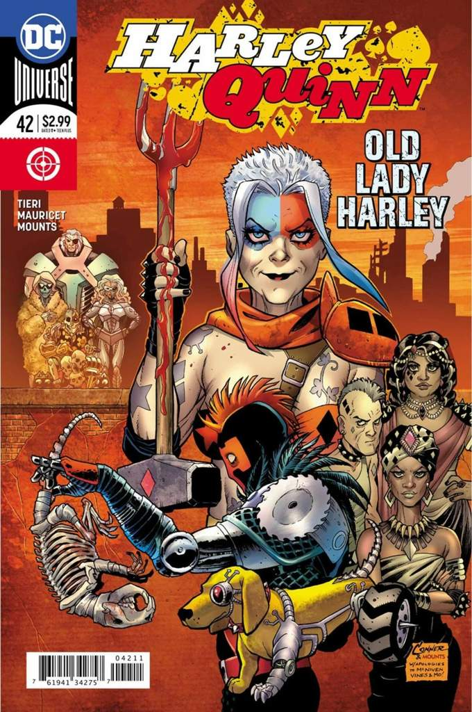 Harley Quinn - Old lady Harley