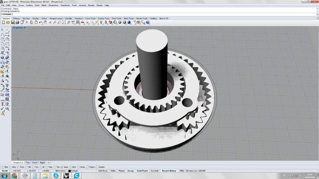 1:1 ratio planetary gear? Part 1 | Maker Amino