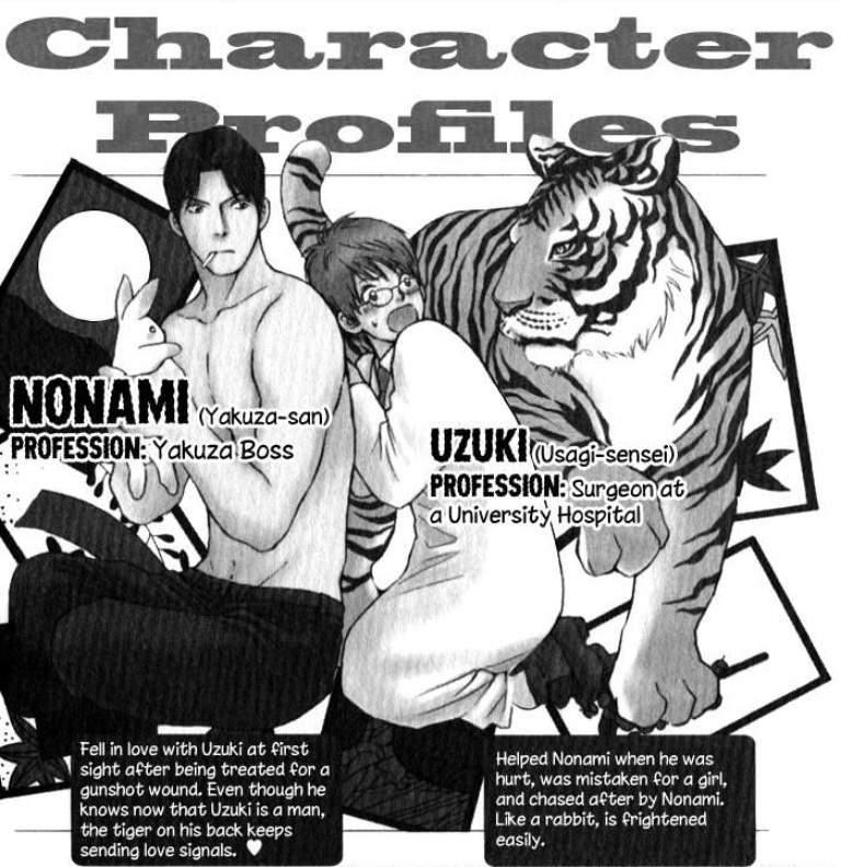 Rabbit man tiger man