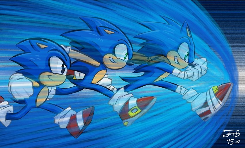 Should Classic Modern And Boom Sonic Be In A Game Together Sonic The Hedgehog Amino