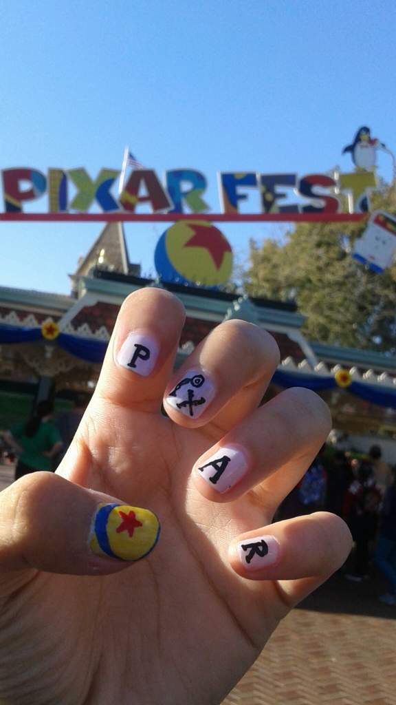 Pixar Pixar Pier Nails Tutorial Disney Amino