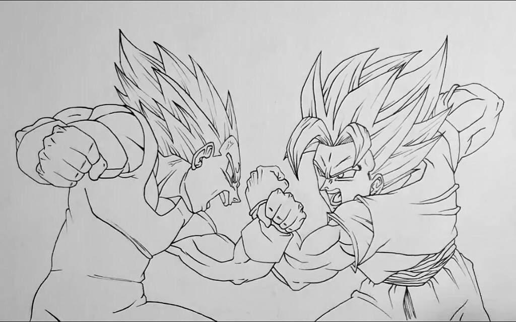 Goku Vs Vegeta Anime Et Manga Amino