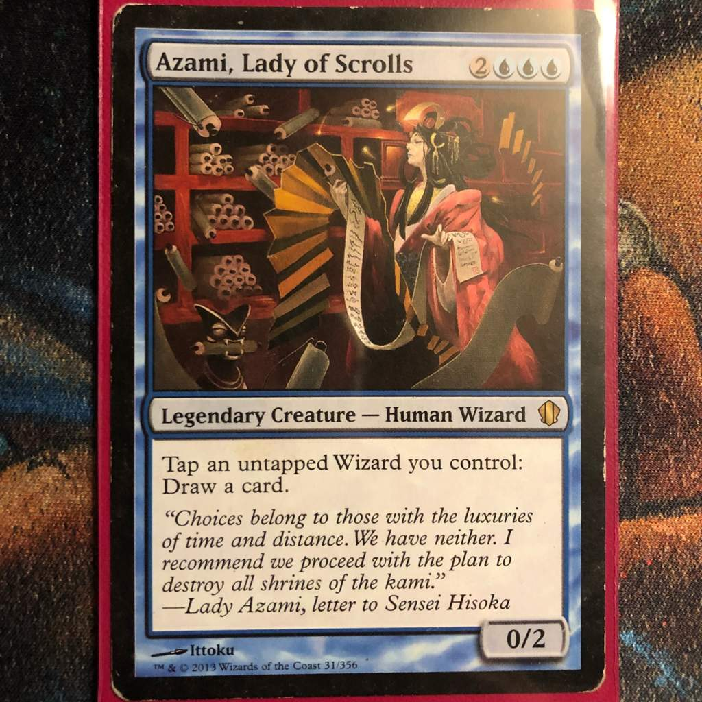 Azami, Lady of Scrolls EDH Deck Tech | MTG Amino