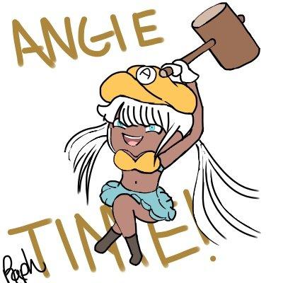 Angie's Got the Chalk | Danganronpa Amino
