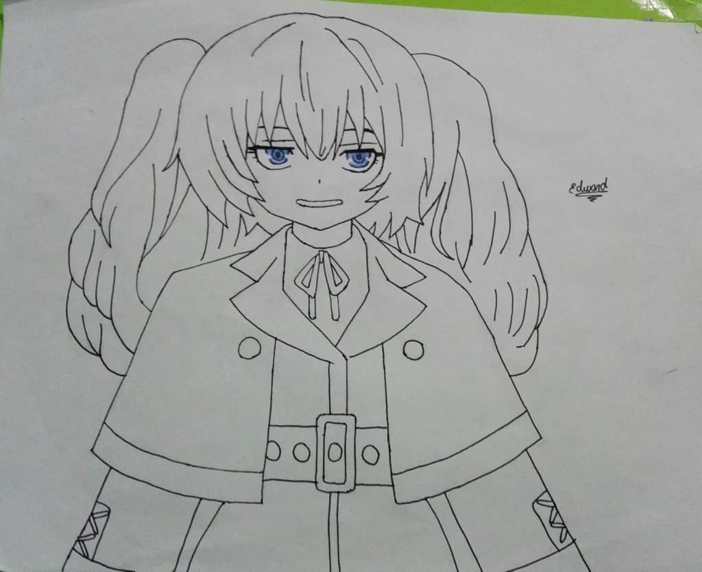 Tokyo Ghoul Dibujos Para Colorear: Dibujo De Saiko De Tokyo Ghoul Re