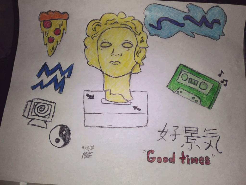 Vaporwave Drawing Art Amino