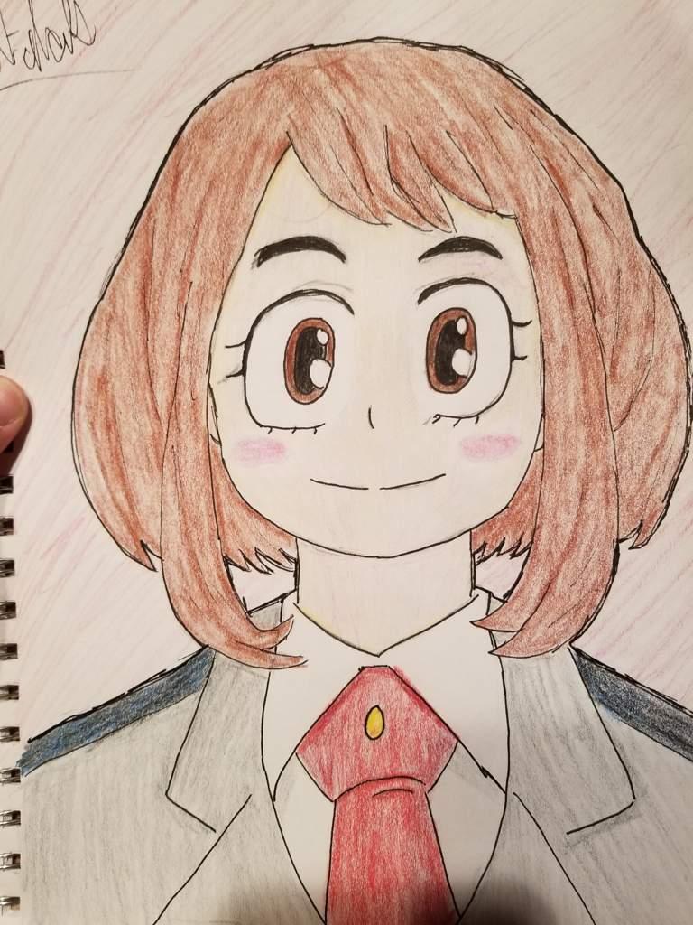 Ochaco Uraraka Drawing My Hero Academia Amino