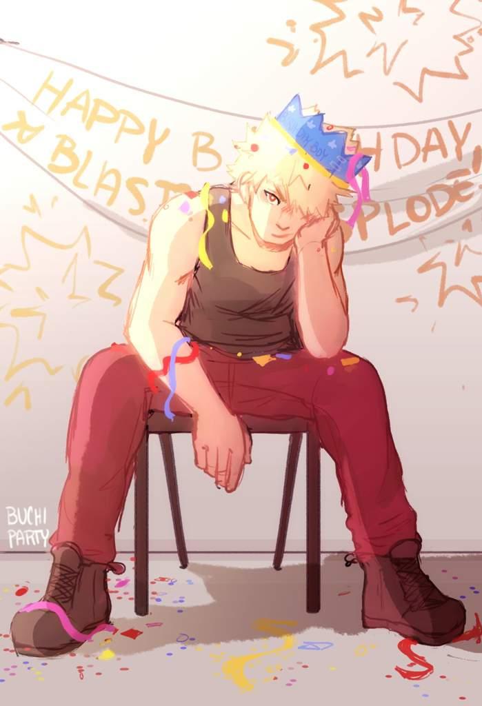 Bakugou birthday