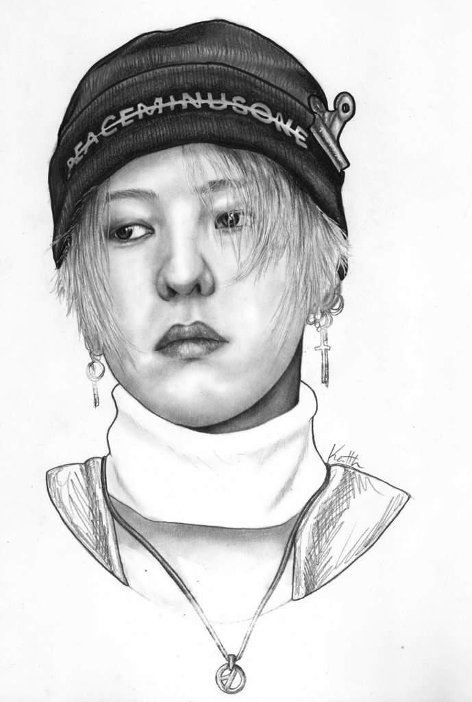 G Dragon Drawings Big Bang Amino Amino