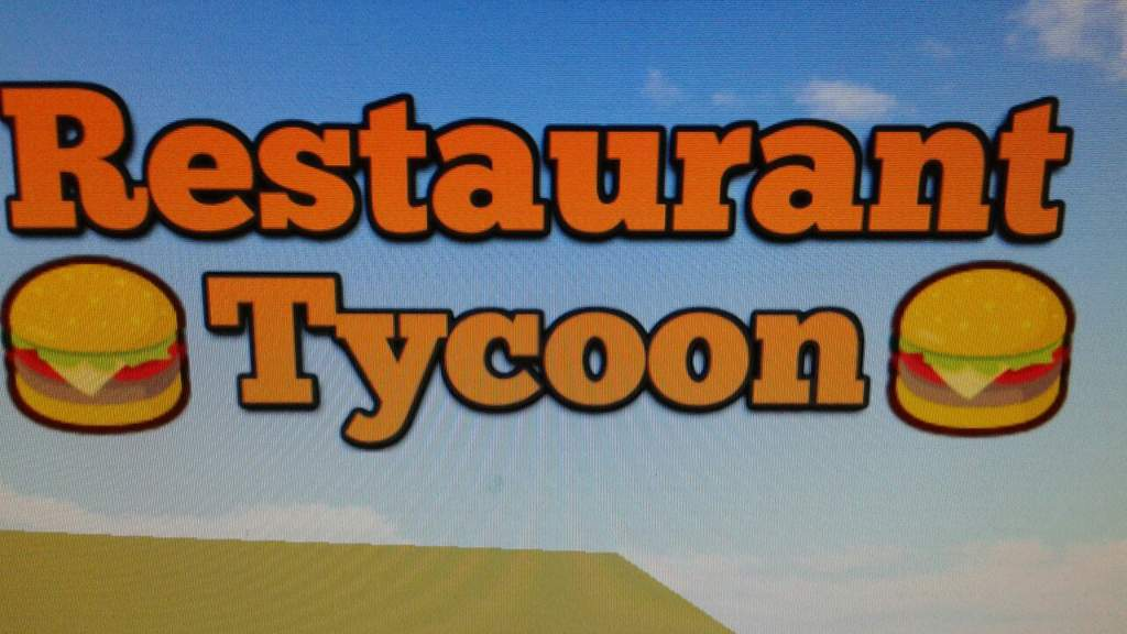 Game critic on     restaurant tycoon | Roblox Amino
