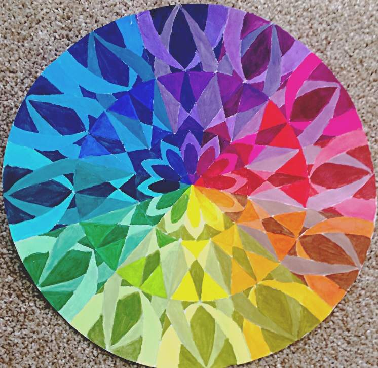 Color Wheel Art Amino