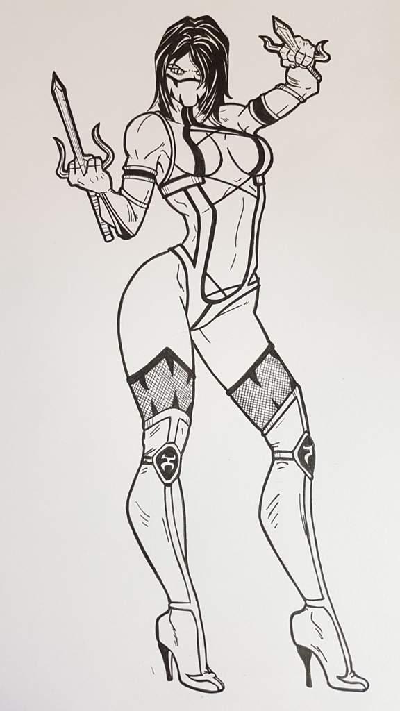Mileena/Skarlet de MK | DibujArte Amino