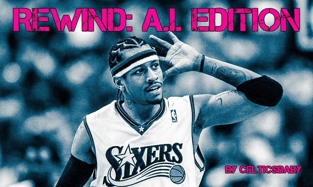 Which Allen Iverson moment would you like to relive  40039b8d6