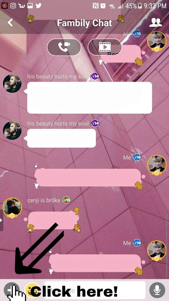 amino how to edit chat bubbles mystic messenger amino