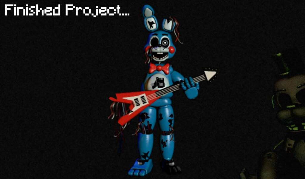 Animaronic Request 2 Withered Toy Bonnie Five Nights At Freddy S Amino