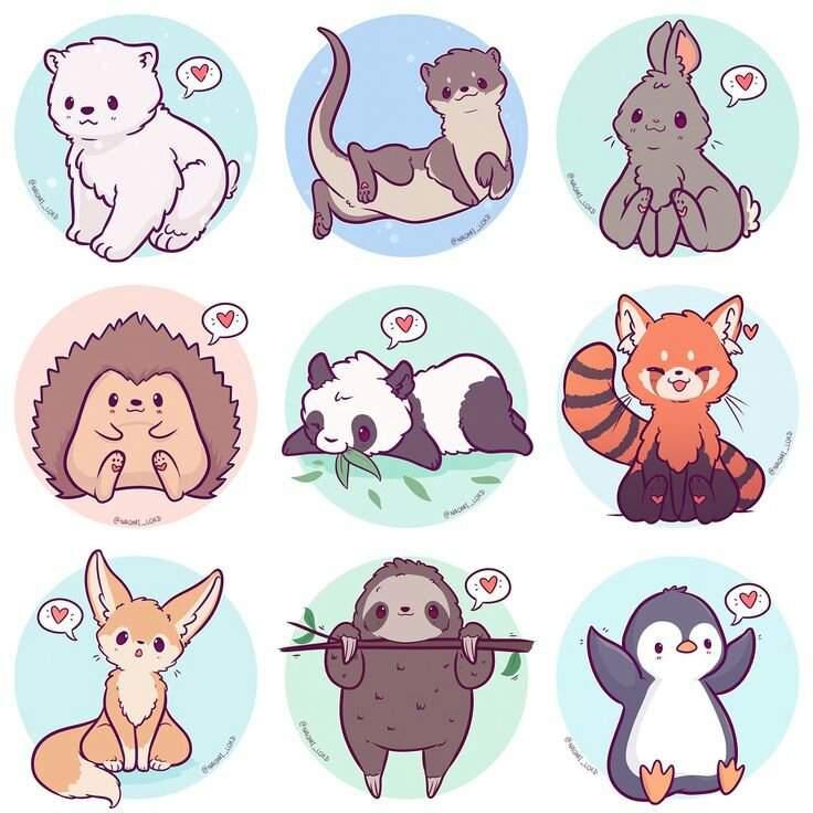 Chibi Art Challenge Wild Animals Amino