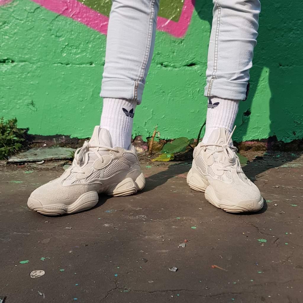 huge discount babb1 ca3e6 Yeezy 500 Blush (Desert Rats) #Clique | Sneakerheads Amino