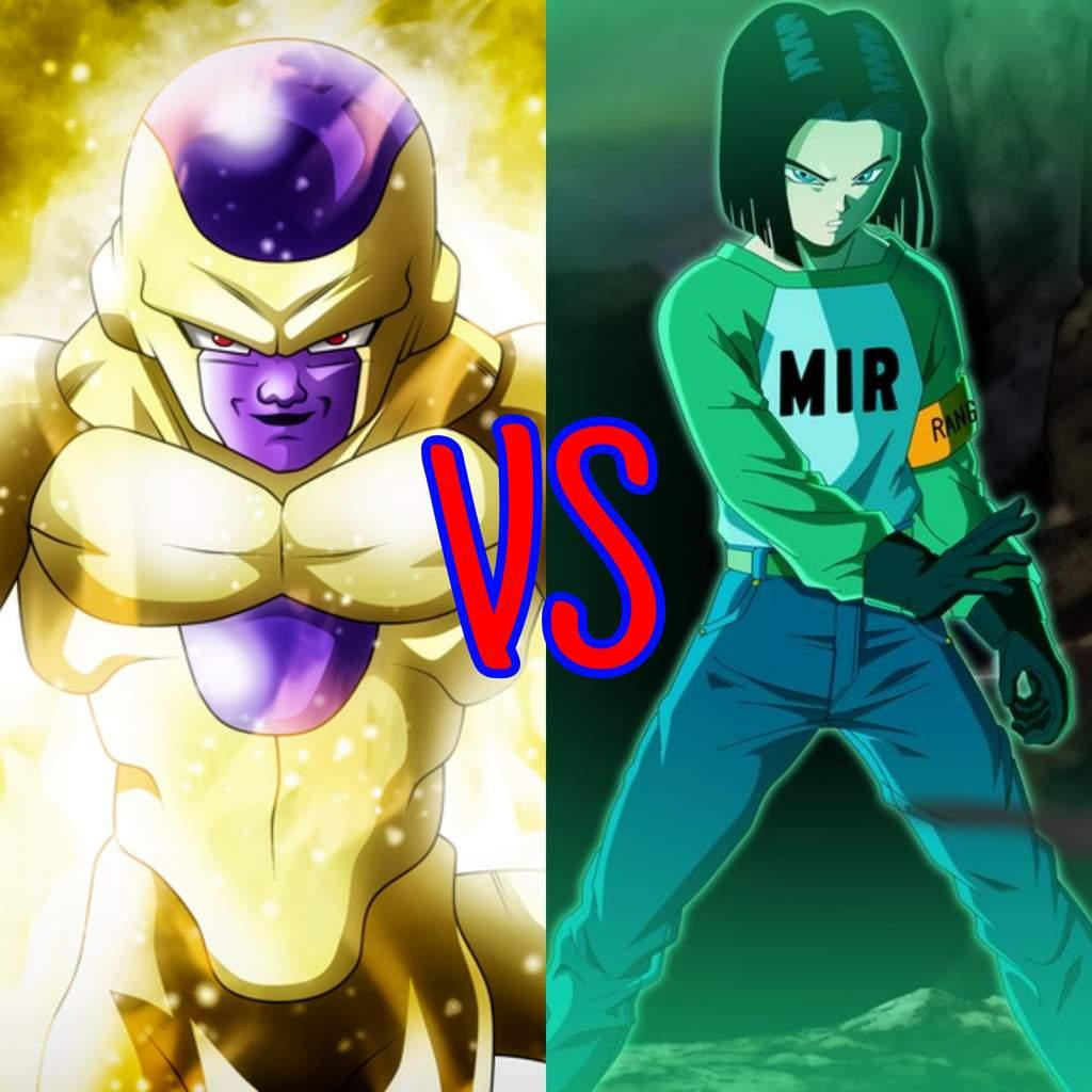 goku android 17 and frieza vs jiren