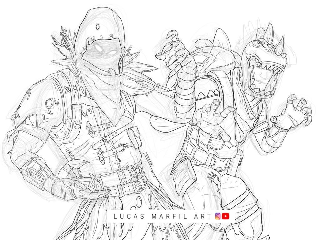 Dibujos Para Colorear De Fortnite