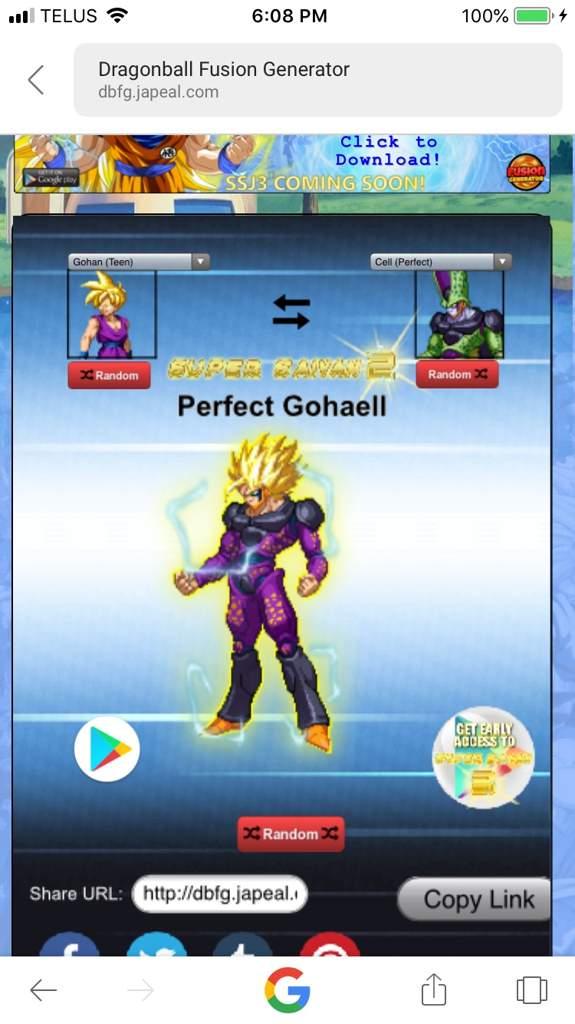 Dragon Ball Fusion Generator   Dragonball Z Multiverse Amino