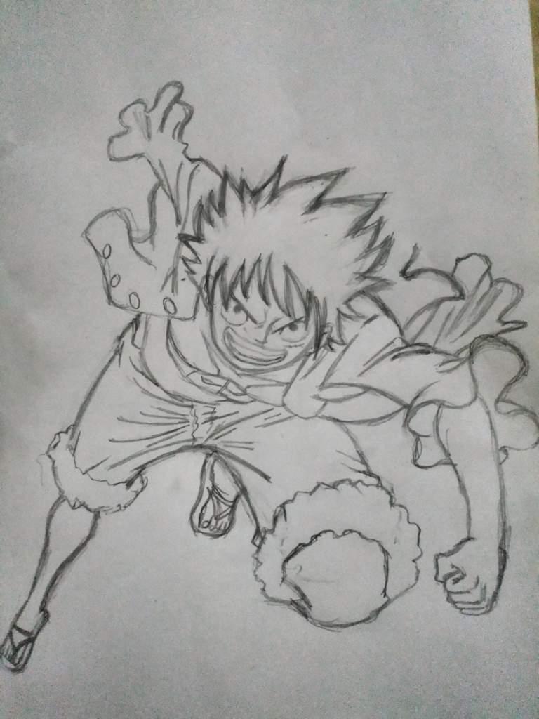 Monkey D Luffy de la editorial salvat | •One Piece• Amino