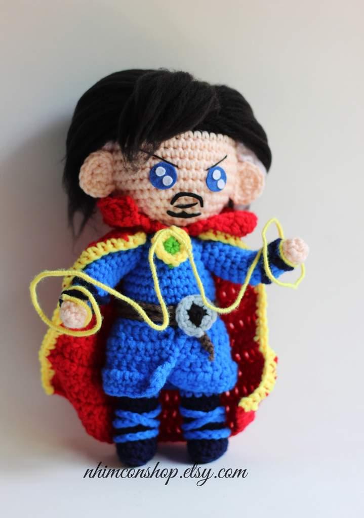 Thanos And Dr Strange Amigurumi Crochet Pattern Crafty Amino